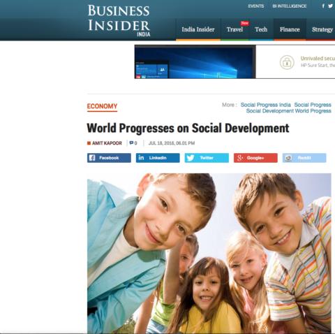 World Progresses on Social Development
