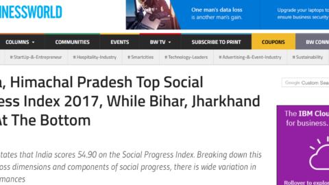 Kerala, Himachal Pradesh Top Social Progress Index 2017, While Bihar, Jharkhand Fare At The Bottom
