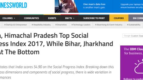 Kerala, Himachal Pradesh Top Social Progress Index 2017, While Bihar, Jharkhand Fare At The Bottom